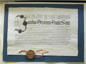 Veiko Kespersaksin kalligrafiatyö