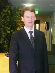 VKL:n toimitusjohtaja Valtteri Niiranen.