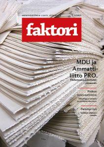 Faktori 1/2013 kansi