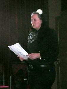 Taloudenhoitaja Heli Varvio.