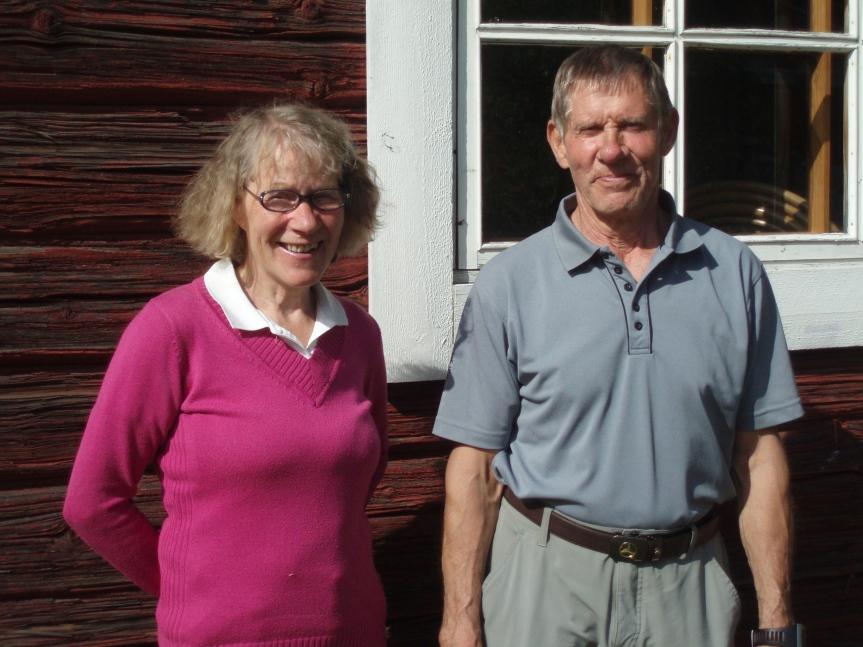 Golf_Tuula ja Hannu Helin