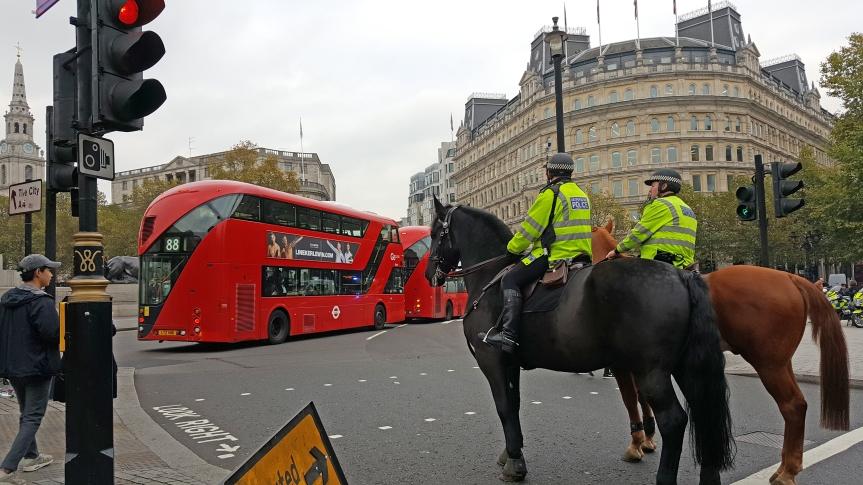 Lontoon liikennetta